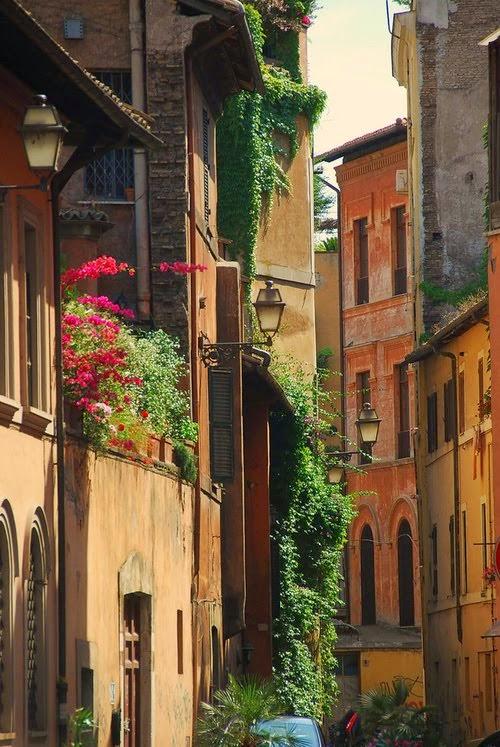 Lanterns, Rome, Italy